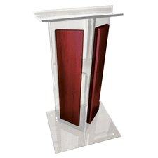 Smoke Acrylic V Speaker Stand