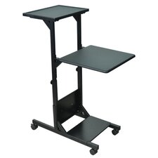 Multimedia Projector Stand AV Cart