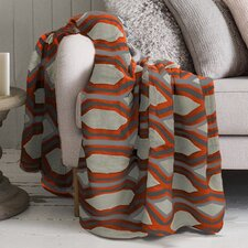 Lauren Taylor Geo Printed Microfleece Blanket