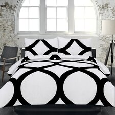 Adrien Lewis Manhattan 3 Piece Duvet Cover Set