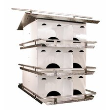 Starling Resistant Entrance Hole Purple Martin Birdhouse