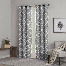 Merritt Geometric Curtain Panel (Set of 2)