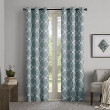 Merritt Geometric Curtain Panel (Set of 2)