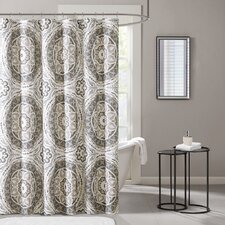 Serenity Printed Shower Curtain