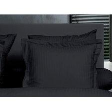 2-tlg. Kissenbezug-Set Uni Stripe aus 100% Baumwolle
