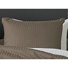 2-tlg. Kissenbezug-Set Uni Stripe