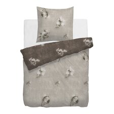 Bettwäsche-Set HNL Velvet Touch aus 100% Tweed-Baumwolle