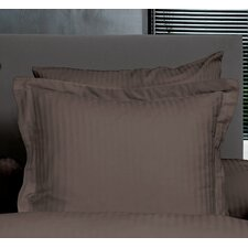 Kissenbezug-Set Uni Stripe aus 100% Baumwolle