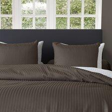 Bettwäsche-Set Uni Stripe aus 100% Baumwolle-Satin