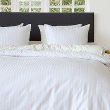 Bettwäsche-Set Uni Stripe Dbo aus 100% Baumwollesatin