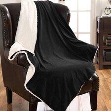 Mink Sherpa Throw Blanket