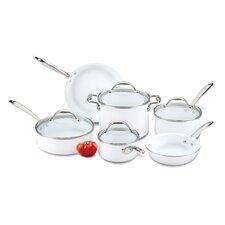 Bianca 10 Piece Cookware Set