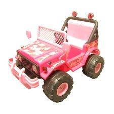 Big Kids 12V Battery Powered Jeep