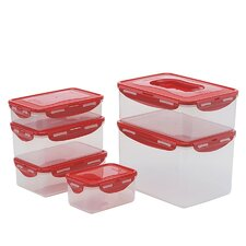 12-Piece Rectangle Food Storage Container Set