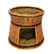 Two Tier Cat House Basket