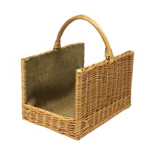 Linen Log Garden Basket