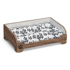 Vintage Style Pet Bed in Brown