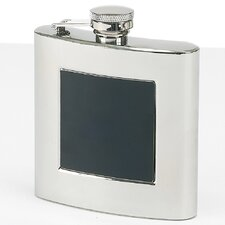 Stainless Steel Flask with Plate