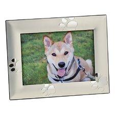 Puppy Paw Print Picture Frame