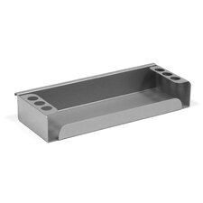 Accessory Marker Tray for Slatrail Mobile Dry Erase Whiteboards and Glass Boards