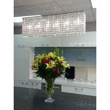 Miami 6 Light Crystal Chandelier