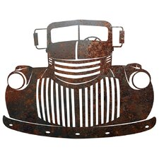 Rustic Metal Old Truck Sign Wall Décor