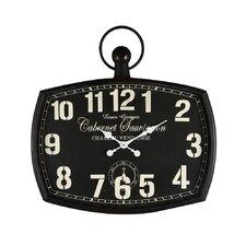 "Vintage-Inspired Pocket ""Cabernet Sauvignon"" Wall Hanging Clock"
