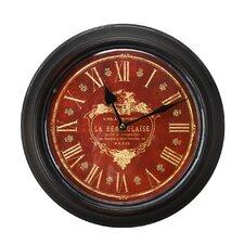 "1.8"" Circular Deep Face and Roman Numerals Wall Hanging Clock"