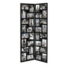 32 Opening Wood Hinged Folding Screen-Style Photo Collage Picture Frame