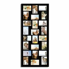 24 Opening Wood Wall Hanging Picture Frame