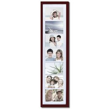 7 Opening Wooden Photo Collage Wall Hanging Picture Frame