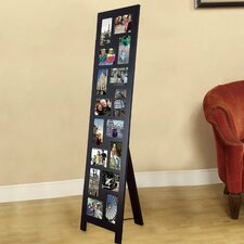 16 Opening Wood Floor-Standing Easel Picture Frame