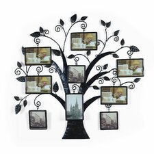 Collage Wall Hanging 9 Opening Picture Frame