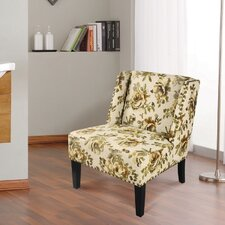 Printing Fabric Slipper Chair
