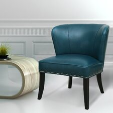 Extra-Comfortable Leather Armchair