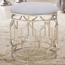 Metal Nesting Flax Diamond Shape Ottoman