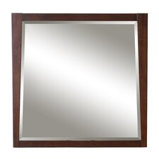 "Jayden 36"" X 36"" Framed Mirror"