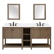 Aiden Bath 2-Shelf Modular Component Vanity Base