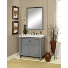"Premier Tops 37"" Bathroom Vanity Top with Integrated Basin"