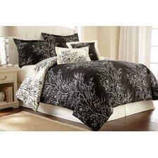 Foliage 6 Piece Reversible Comforter Set
