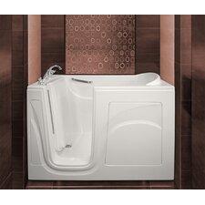 "Navigator 54"" x 30"" Whirlpool Jetted Walk-In Bathtub"
