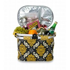 Shelby Collapsible Thermal Foil Insulated Market Tote Picnic Cooler