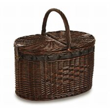Torrington 4 Person Deluxe Picnic Basket with Insulated Cooler