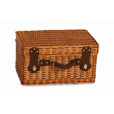 Wynberrie 4 Person Picnic Basket with Insulated Cooler Section