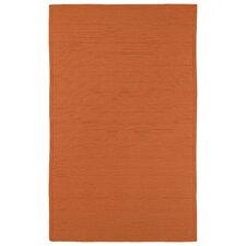 Bikini Orange Indoor/Outdoor Area Rug
