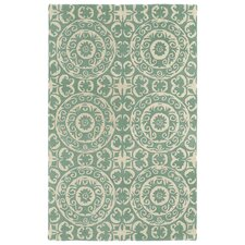 Evolution Mint Area Rug