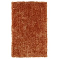 Posh Orange Area Rug