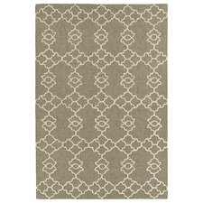 Spaces Handmade Light Brown Area Rug