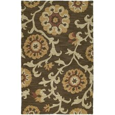Carriage Cornish Brown Area Rug