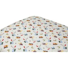 Under Construction Fitted Crib Sheets (Set of 2)